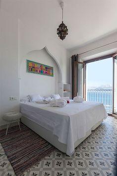 Zuid Spanje, tarfia - Super leuke appartementen (4-6 personen) . Op loopafstand van het oude centrum en het stadsstrand. Uitzicht op zee en kitesurfen voor de deur.