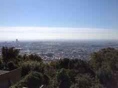 みのお山荘からの風景。