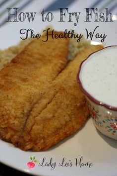 I hate frying! It's gotta be a real good dish to make me pull out the frying pan. This fried fish recipe is exactly that. It's so good and quick, and not much oil is needed. Just a bit of olive oil. #LadyLee'sHome