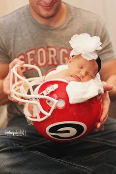Cute idea for a baby pic. Just not UGA or Shane would kill me lol. Maybe whatever high school Shane is at when the baby is born.