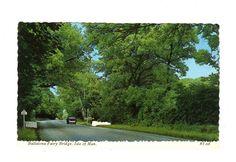 CPSM BORD DENTELE -  ANGLETERRE - BALLALONA FAIRY BRIDGE - ISLE OF MAN