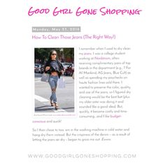 http://diaryofapersonalshopper.blogspot.com/2016/05/how-to-clean-those-jeans-right-way.html?m=1
