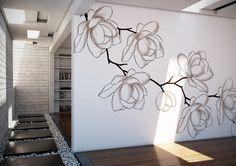 Wall Painting Decor, House Painting, Wall Decor, Tree Wall Murals, Mural Wall Art, Wall Art Designs, Wall Design, House Plants Decor, Wall Drawing
