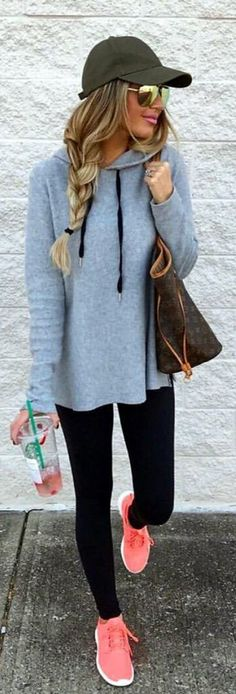 Cute Sporty Outfits to Try in Winter #Sporty #Outfits