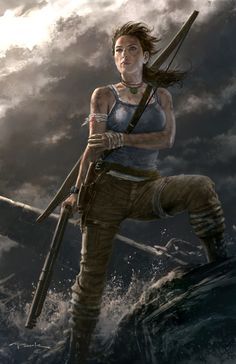 """Tomb Raider """"Rebirth"""" by Andy Park"""