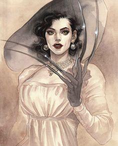 Horror Icons, Horror Art, Dark Fantasy Art, Fantasy Women, Art Sketches, Art Drawings, Resident Evil Girl, Lady, Evil Art