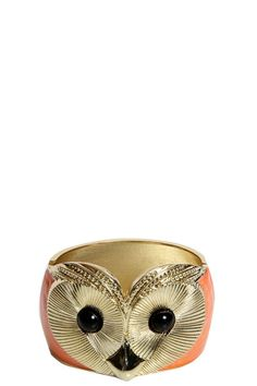 Lily Orange Owl Bangle -for my daughter.
