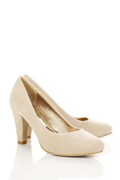 Classic Suedette Pump Shoes