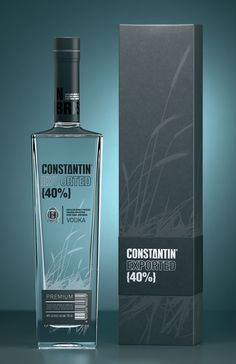 ConstantinVodka - The Dieline -