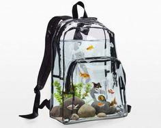 バックパックで金魚を飼おうか?―「Aquarium Backpack(水槽バックパック)」 - えんウチ