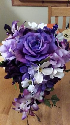This is my latest brides bouquet