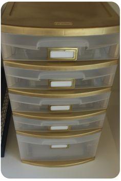 DIY Office Storage Organization for Under $30!