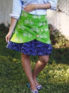 Vivienne Skirt Sewing Pattern | Violette Field Threads