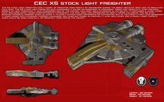 XS Stock Light Freighter ortho [New] by unusualsuspex on DeviantArt