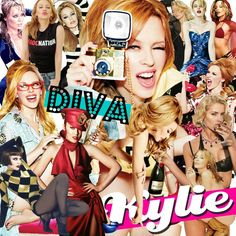 IT'S KYLIE! Yes folks, the latest induction of Madonna, uh I mean Kylie into the Diva Hall of Fame has finally arrived. Music Mix, Dance Music, Kylie Minouge, Santa Baby, Madonna, Melbourne, Wonder Woman, Superhero, Celebrities