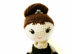Crochet Doll Pattern  Holly Golightly  Amigurumi by MysteriousCats