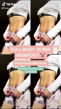 Body Weight Leg Workout, Full Body Gym Workout, Slim Waist Workout, Gym Workout Tips, Fitness Workout For Women, Sport Fitness, Fitness Workouts, Workout Videos, Workout Abs