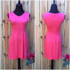 ⭐️️BRAND NEW ⭐️Salmon Sleeveless Mini Dress Brand new.   5 Dresses Mini