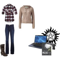"Supernatural ""Sam Winchester"" inspired outfit"
