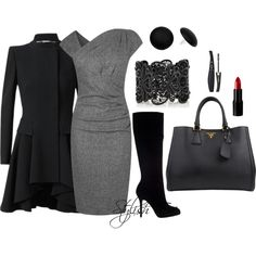 """Winter Work Outfit !"" by stylisheve on Polyvore"