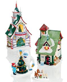 Department 56 Rudolph Collection - Holiday Lane