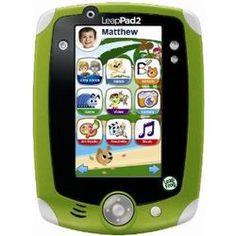 Green LeapPad2 Explorer