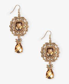 Floral Vine Drop Earrings | FOREVER21