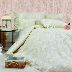 Obliečky bavlnené Anemaria krémová Emi — Tia Home Comforters, Blanket, Bed, Furniture, Home Decor, Creature Comforts, Quilts, Decoration Home, Stream Bed