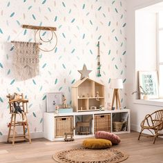 The home of bold & beautiful wallpaper in Australia. Deco Originale, Boho, Baby Decor, Wallpaper S, New Homes, Kids Rugs, Decoration, Interior Design, Home Decor