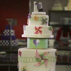 Ashley Next Great Baker Wedding Cake