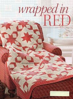 Wrapped In Red Quilt Pattern Pieced NB