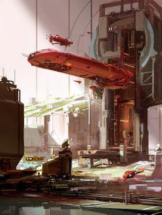 #scifi SPARTH – Assemblage