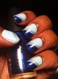 Image result for dallas cowboys nail designs