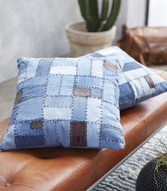 Fuhr Home has designed this cosy cushion which will look nice in your sofa or at your daybed. Cushions On Sofa, Throw Pillows, Nordic Design, Industrielt Design, Eco Label, New Nordic, World Of Interiors, Recycled Materials, Home Textile