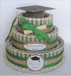 Teen Gift Idea   Money Cake Ideas