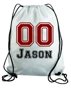 193fb68023ba Items similar to Personalized Baseball design- Kids drawstring bags
