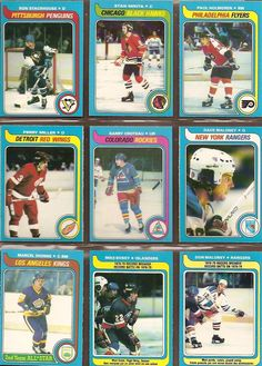 154-162 Ron Stackhouse, Stan Mikita, Paul Holmgren, Perry Miller, Garry Croteau, Dave Maloney, Marcel Dionne, Record Breakers