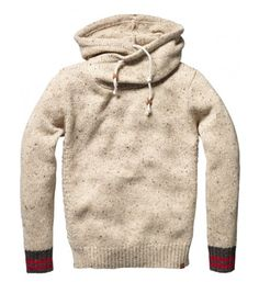 Willing to wager that every girl has written hearts around the name of a boy who wore a sweater like this Scotch & Soda one.