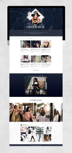 Template responsivo para blog by Ella Jardim Web Design, Polaroid Film, Blog, Design Web, Blogging, Website Designs, Site Design