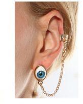#Romwe - Eyeball Ear Cuff