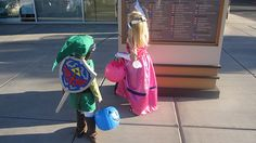 I think these kids are too young to know just how epic their costumes are