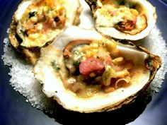 char grilled oysters - Recipe