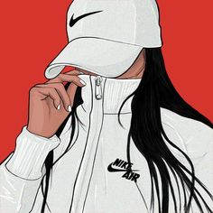 Imagem de nike, white, and art