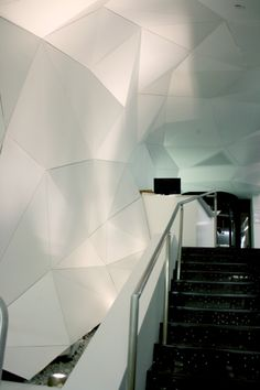 Solutions | Ceiling Systems | Vektor, Transitioning from Ceiling to Wall by ARKTURA - Private Client, New York, NY