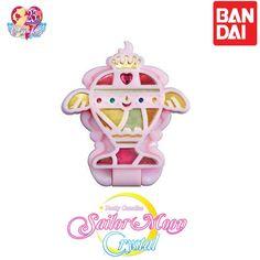 GASHAPON BANDAI Sailor Moon Stained Glass Compact Mirror Rainbow Moon Chalice
