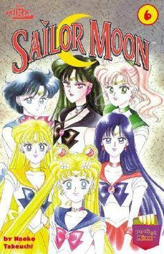 Sailor Moon 6 by Naoko Takeuchi Sailor Moons, Sailor Moon Manga, Sailor Moon Crystal, Naoko Takeuchi, All Japanese, Sailor Scouts, New Friends, Manga Anime, Cartoon
