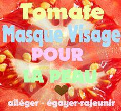 Top 3 tomates Masque Visage Recettes | Masque Visage Maison