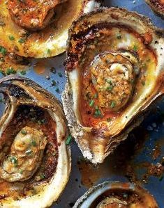 SPICY GRILLED OYSTER [myrecipes]
