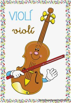 Educació Infantil Brimar: VOCABULARI INSTRUMENTS MUSICALS Music Ed, Art Music, Music Classroom, Classroom Decor, Violin Sheet Music, Music Pictures, Colouring Pages, Orchestra, Clip Art
