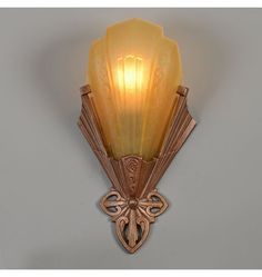 """J.C. Virden """"Rayburn"""" Deco Wall Sconce, c1933 Check with customer service for available quantities."""